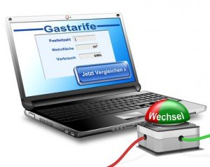Gaspreisvergleich online durchführen