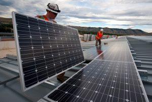Solarfelder als erneuerbare Energien